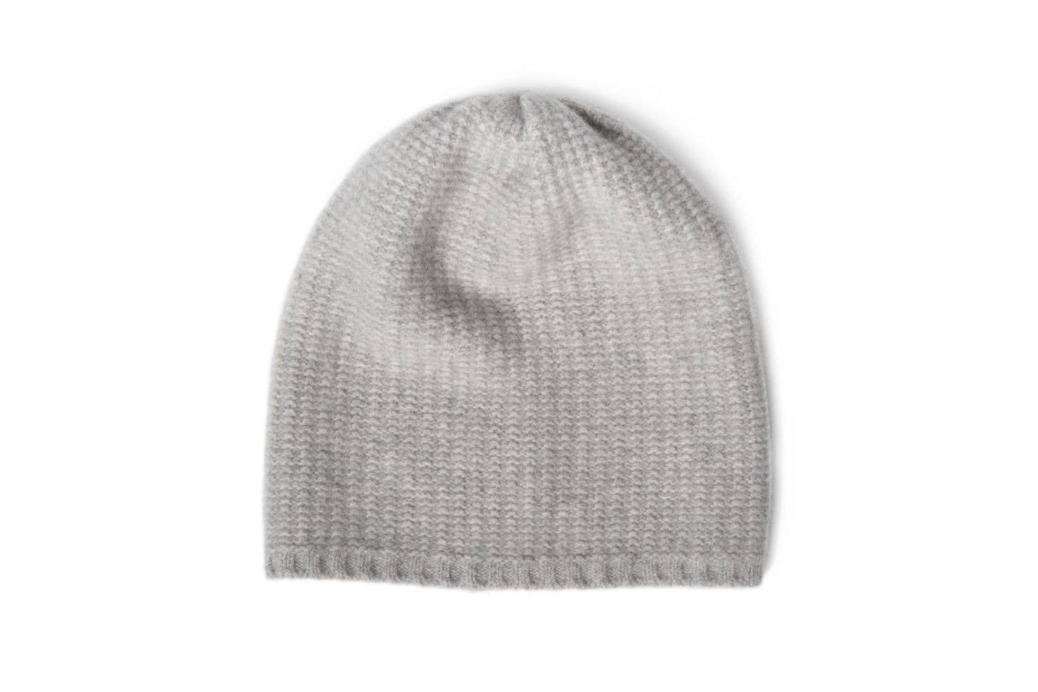 Portolano - Cashmere Slouchy Hat Light Heather - Grey