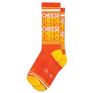 Gumball Poodle - Cheese Ribbed Gym Socks