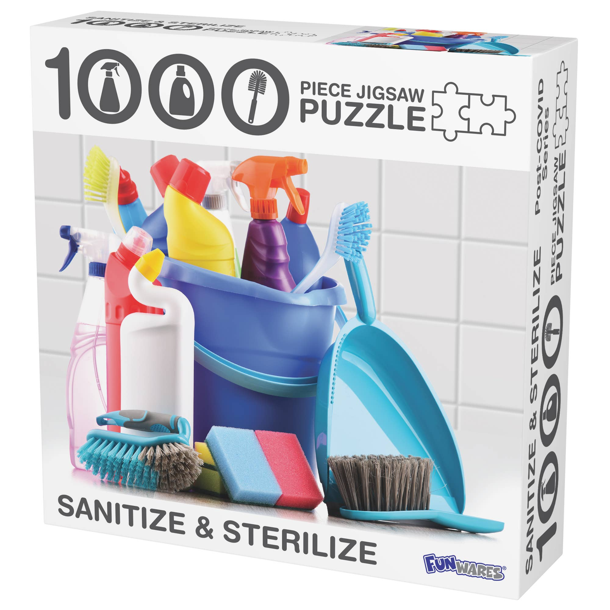 Barbuzzo & Funwares - Sanitize and Sterilize Puzzle