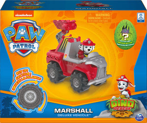Paw Patrol Dino Rescue Deluxe Rev Up Marshal Vehicle