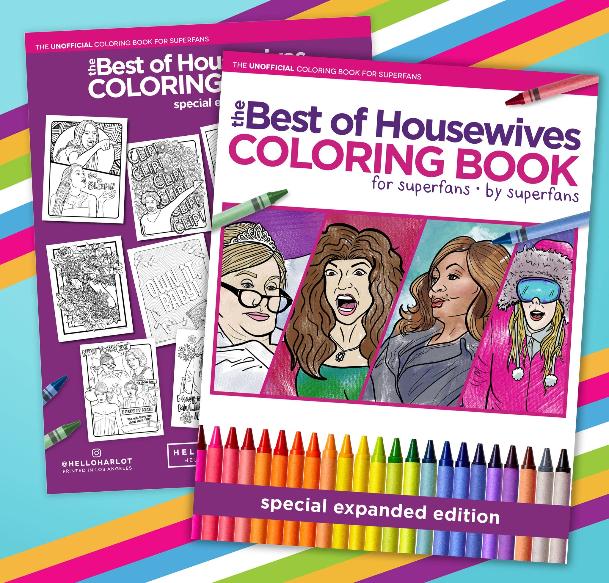 Hello Harlot - Best of Housewives Coloring Book