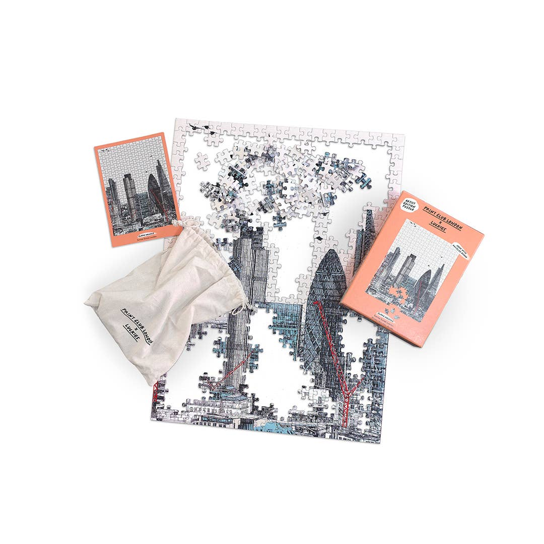Luckies of London - Print Club x Luckies - Sunrise Sunset London Puzzle