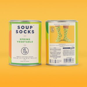 Luckies of London - Luckies Originals - Soup Socks Spring Vegetable