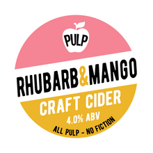 Load image into Gallery viewer, PULP RHUBARB & MANGO 4%