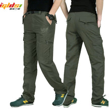 Load image into Gallery viewer, Men's Military Style Cargo Pants Men Summer Waterproof  Plus Size 4XL