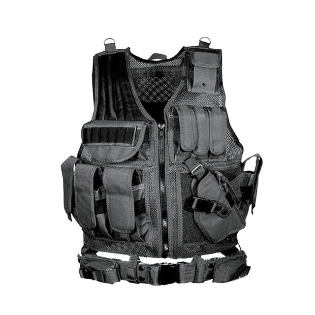 Tactical Vest Army Military Combat Camouflage