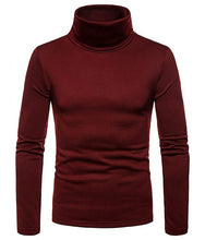 Load image into Gallery viewer, Men's Turtle Neck Sweater