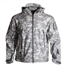 Load image into Gallery viewer, Men's Army Camouflage   Military Tactical  Waterproof Jacket