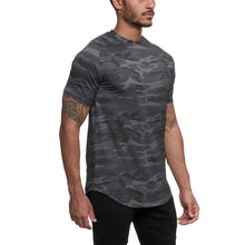Load image into Gallery viewer, 2021 Camo Sport Short Sleeve Gym T-shirt