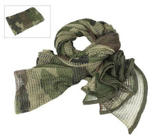 Load image into Gallery viewer, Cotton Scarf - Camouflage