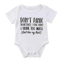 Don't Panic Bodysuit