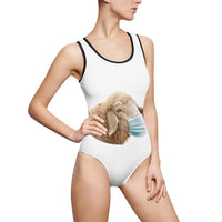 Masked sheep one-piece