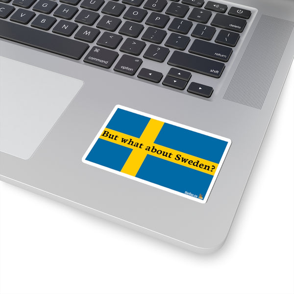 But what about Sweden? sticker