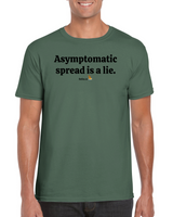 Asymptomatic spread is a lie