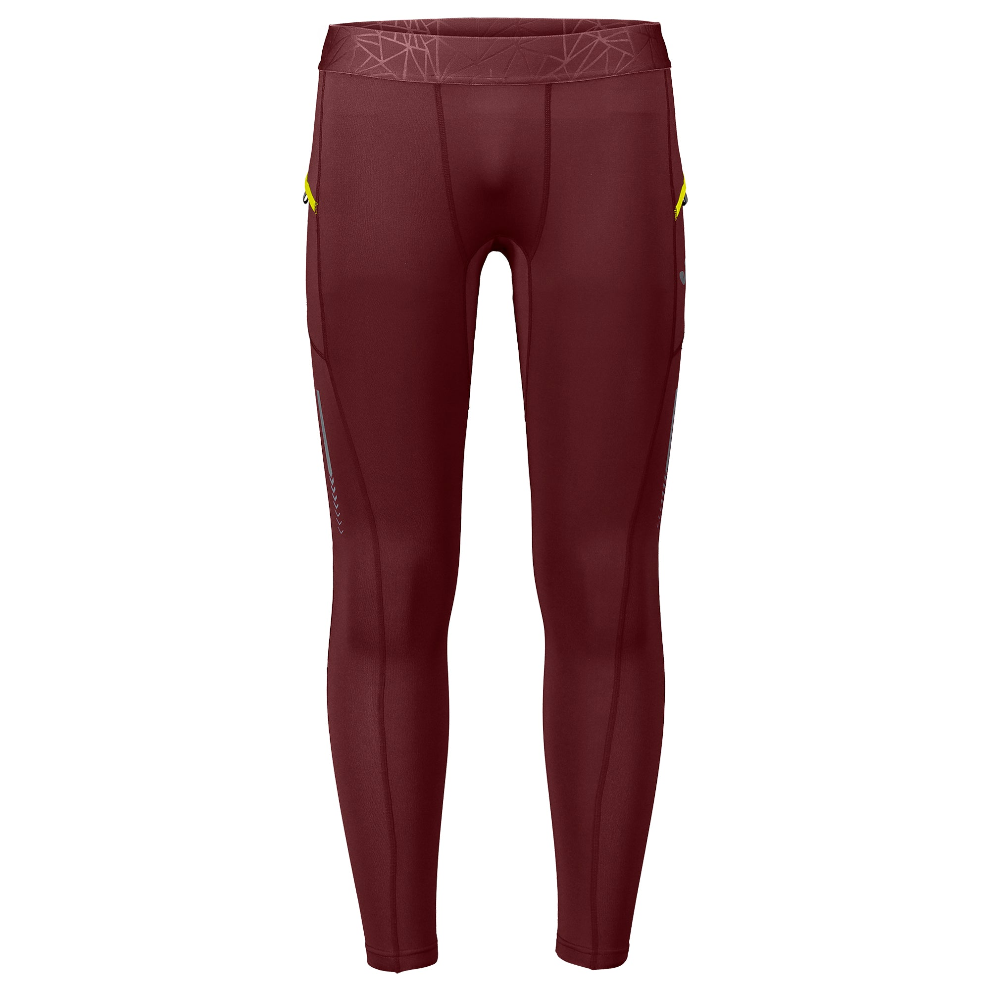 Pantalone Running Flash Marrone