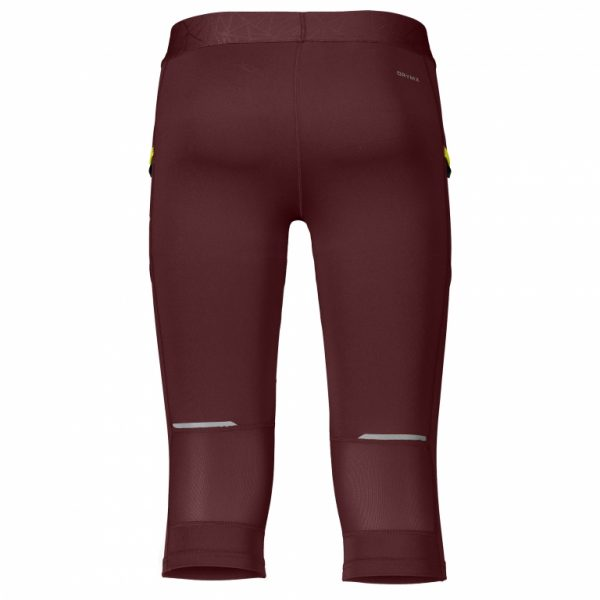 Pantalone Pirata Running Flash Marrone