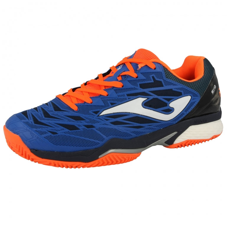 Scarpa Tennis/Padel T. Ace Pro 704 Royal /Arancio Clay
