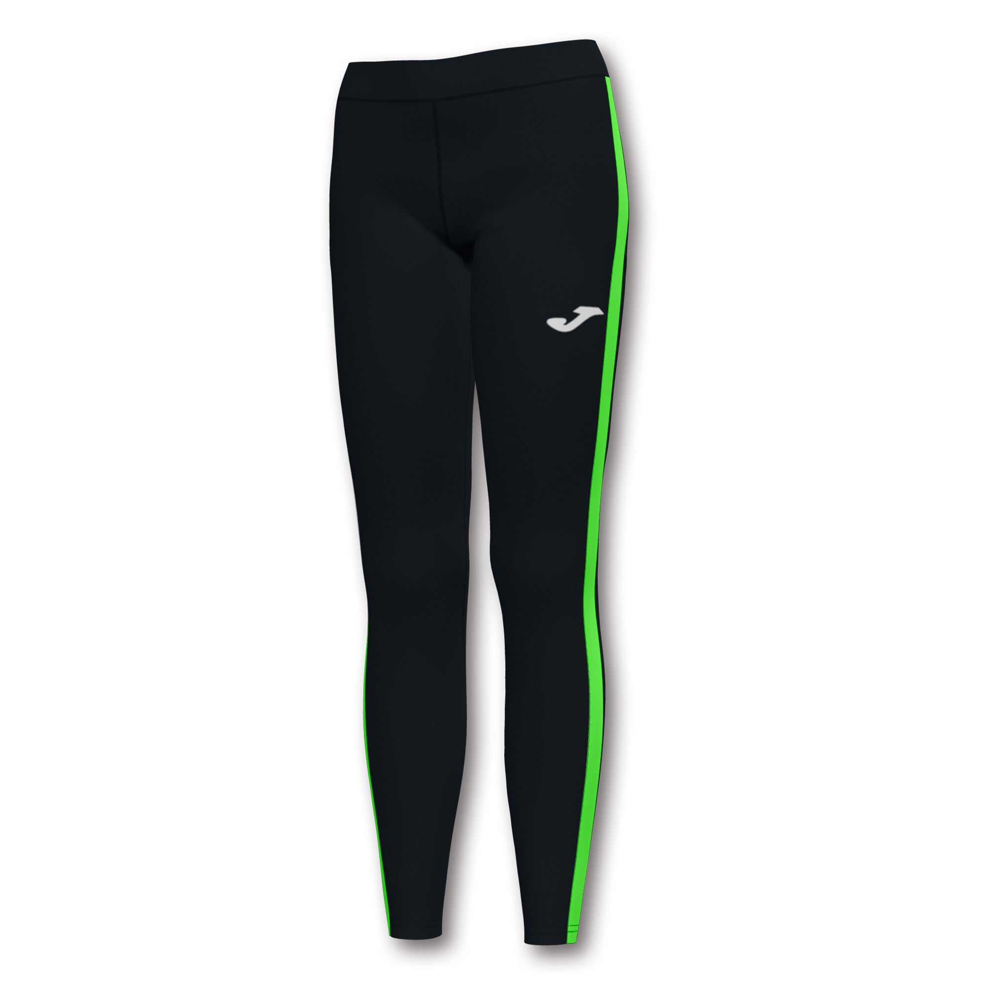 Collant lunghi Elite VII nero-verde-fluorescente (Uomo/Donna)