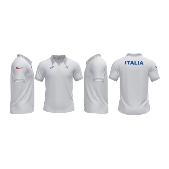 Polo Fed. Italiana Tennis Bianco