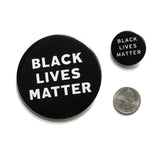 "BLACK LIVES MATTER <br> 3"" Button"