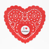 I HEART CONSENT<br> Pinback Button