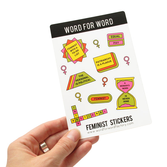 FEMINIST STICKER SHEETS
