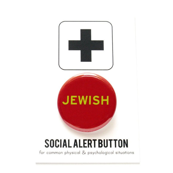 JEWISH  <br>Holiday Pinback Button