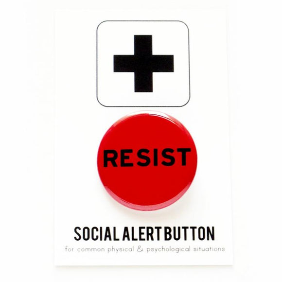 RESIST <br> Pinback Button