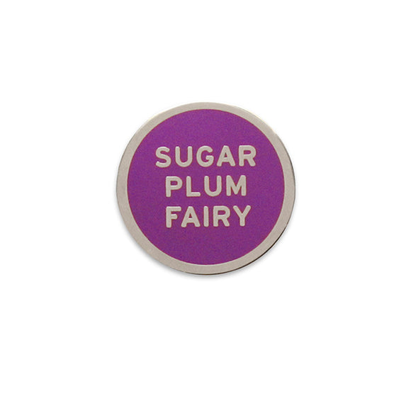 SUGAR PLUM FAIRY <br> Holiday Enamel Pin