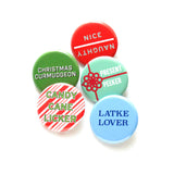 CHRISTMAS CURMUDGEON <br>Holiday Button