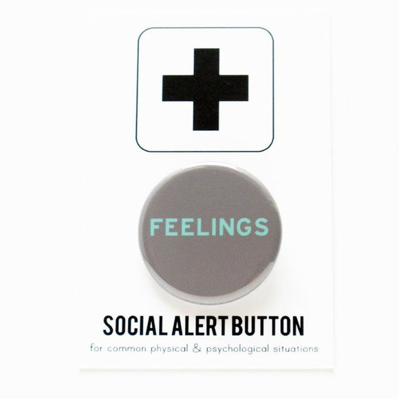 FEELINGS <br> Pinback Button