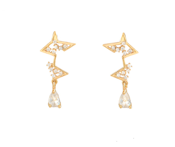 Finding You Star Earrings