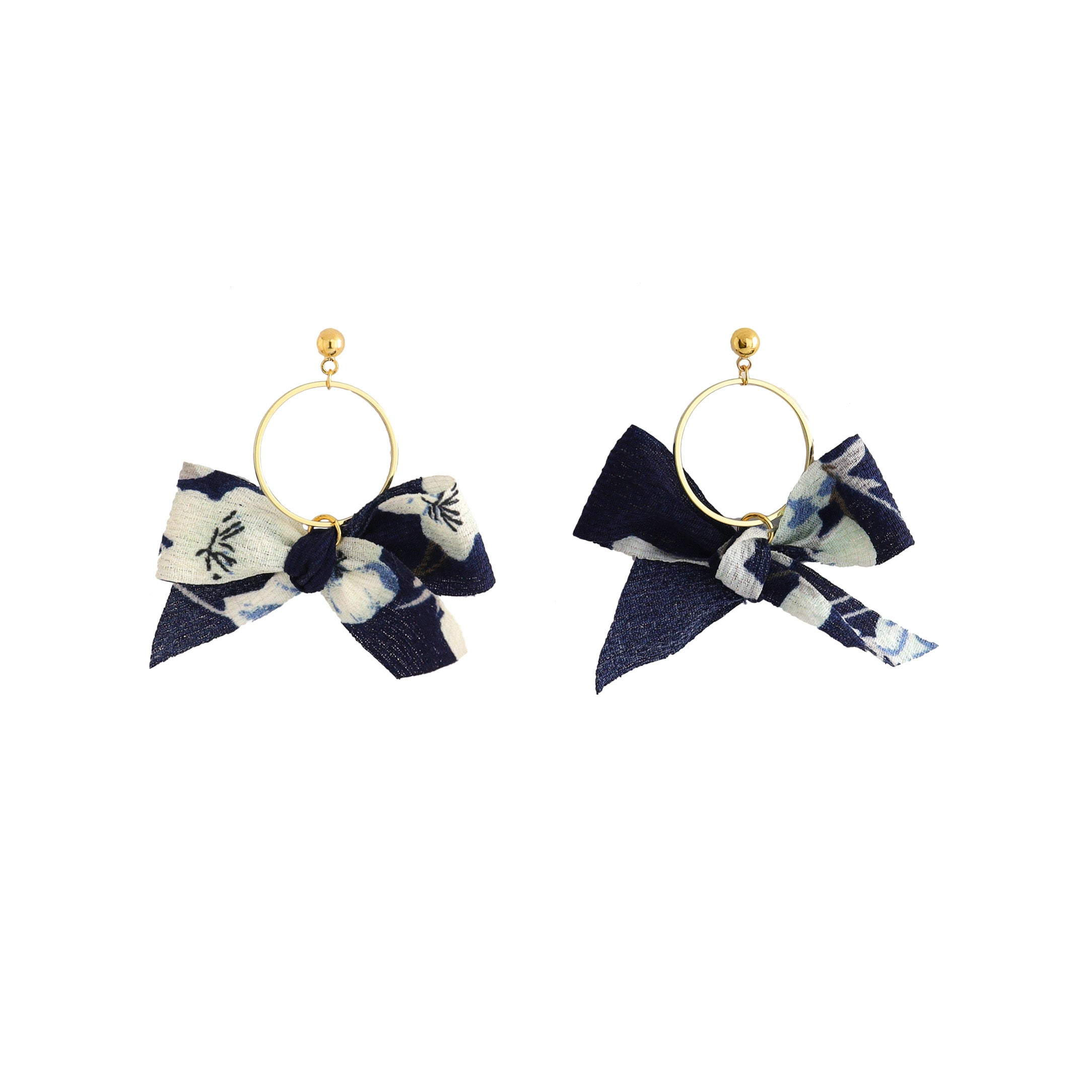 Kimono Ring Earrings