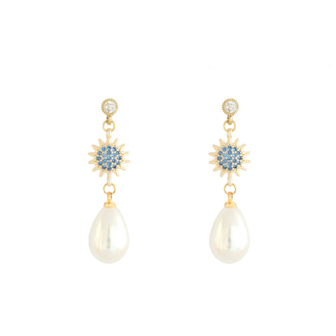 Bizantine Pearl Earrings
