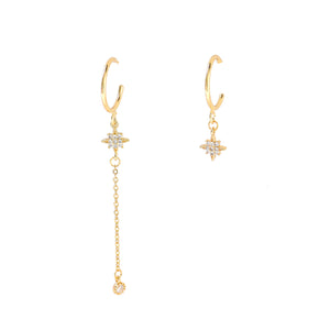 Gabriel Star Earrings