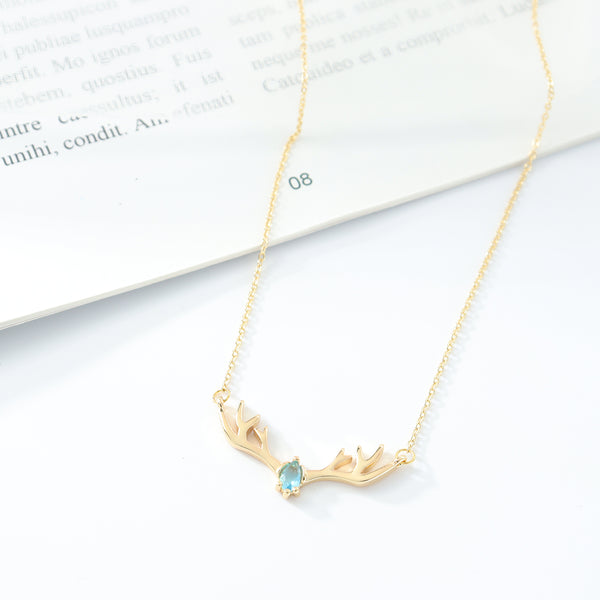 Majestic Horn Necklace