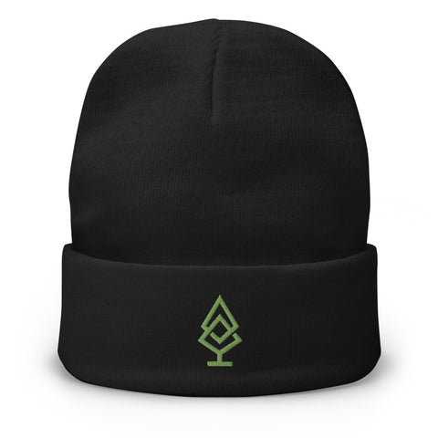 Pinecount Embroidered Beanie