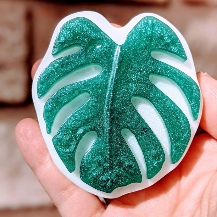 Monstera Leaf Handmade Soap
