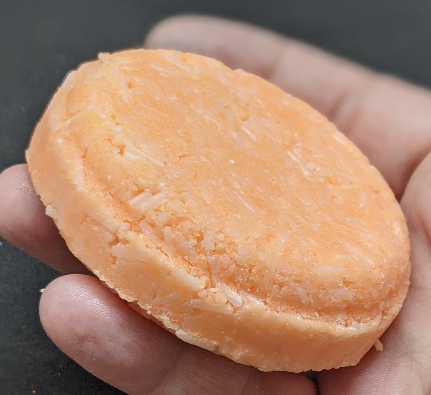 Juicy Apricot Shampoo Bar - Kinetic Body Mind