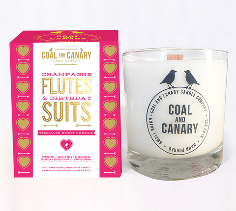 Candle - Champagne Flutes & Birthday Suits: The Date Night Candle