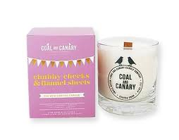 Coal & Canary Candle - Chubby Cheeks and Flannel Sheets