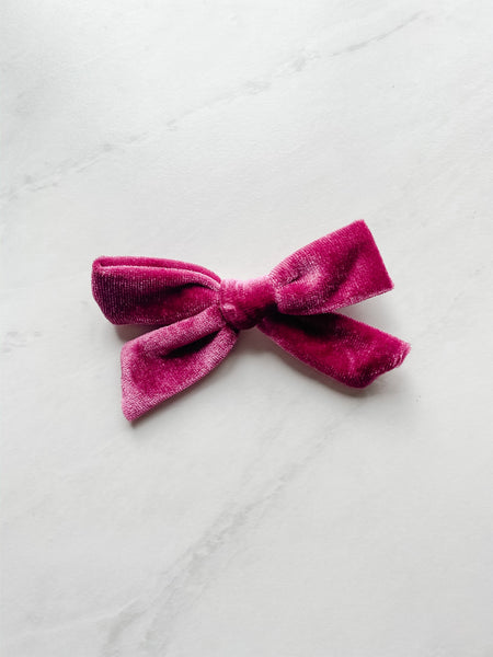 Bubba's and Mama's - Velvet Bow Clips