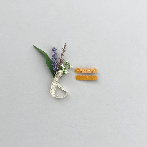 Bar Clip - Flower