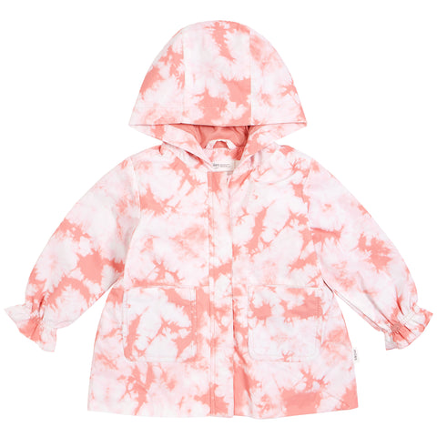 Breeze Breaker Jacket - Tie Dye Melon
