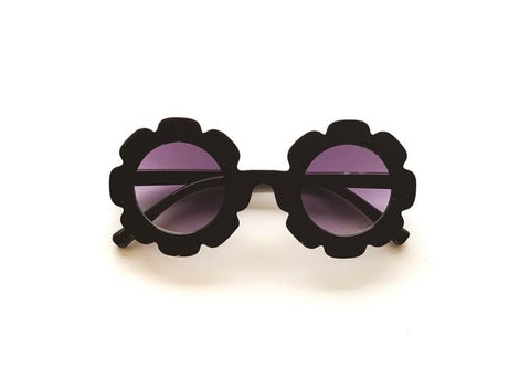 Umm Anissa - Sunnies Flower - Black