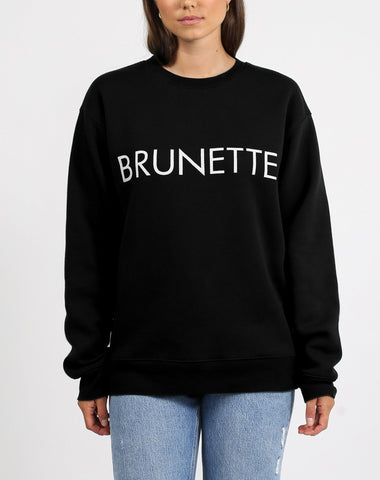 Brunette the Label - Brunette Crewneck Sweatshirt