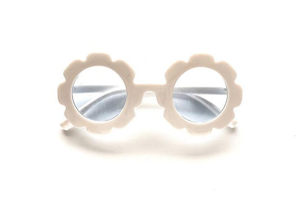 Umm Anissa - Sunnies Flower - White