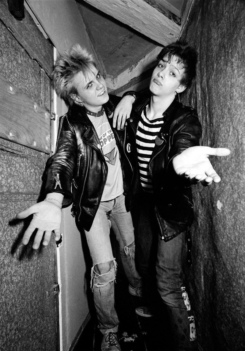 Punk by Jan Sneum : Peter Peter & Eddie Fine-art photography Jan Sneum