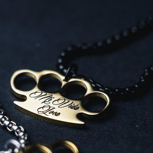 "MVL Logo chain ""Black / Gold"""