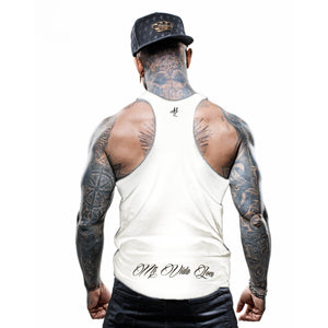 "MVL ""Chest logo"" Tanktop - White"